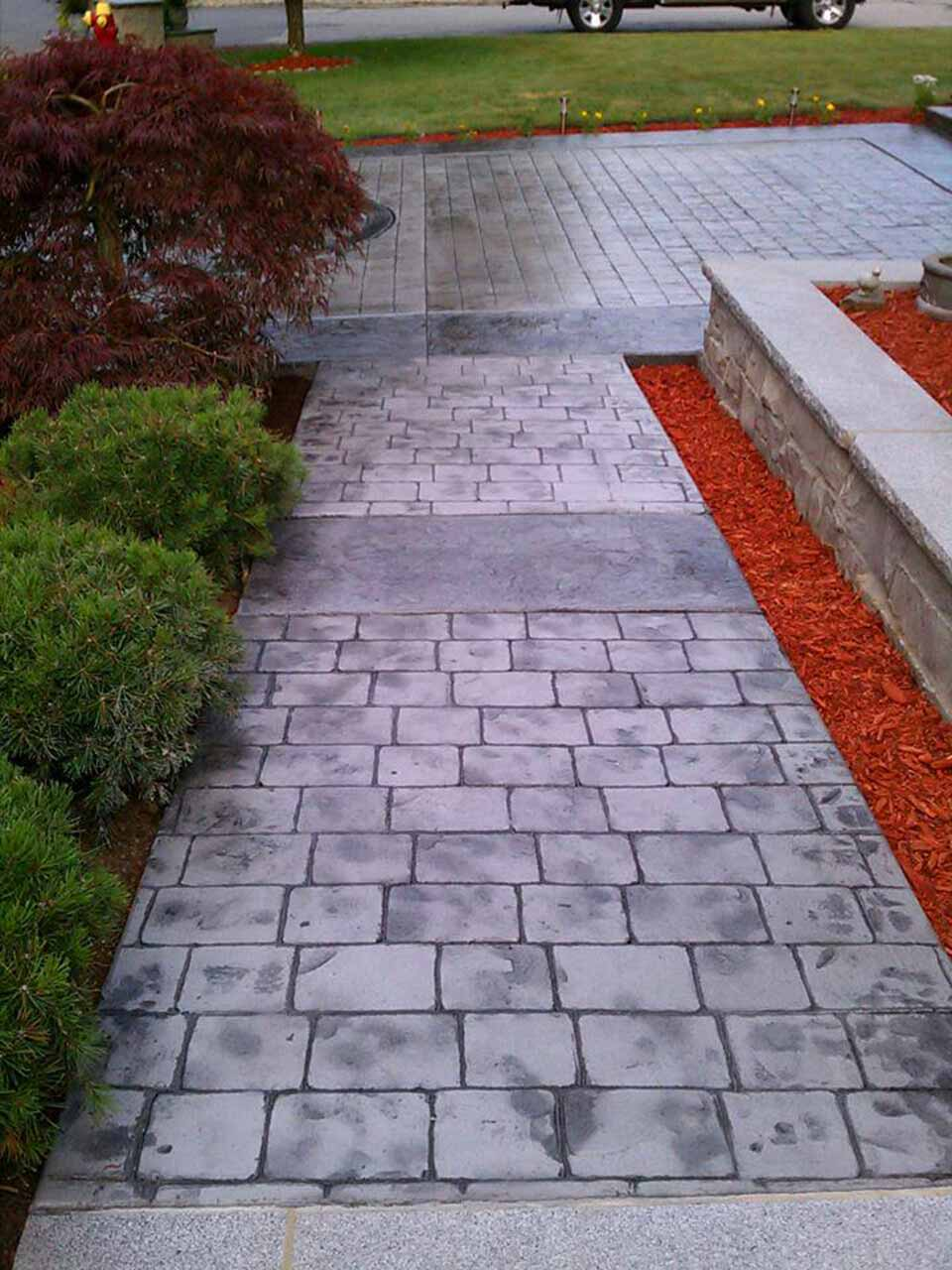 Stamped Concrete Contractors Pictures Designs