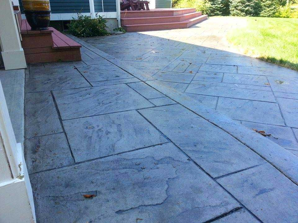 Stamped Concrete | Contractors, Pictures, Designs