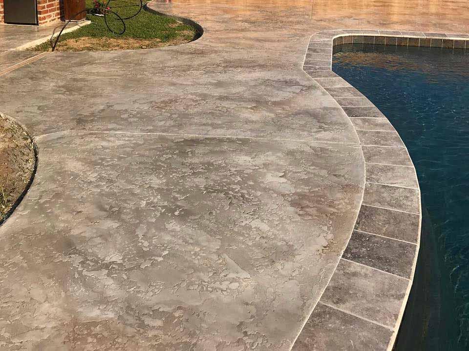 Stamped Concrete | Contractors, Pictures, Designs