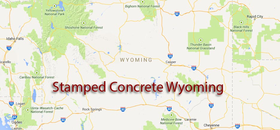 Stamped Concrete Wyoming