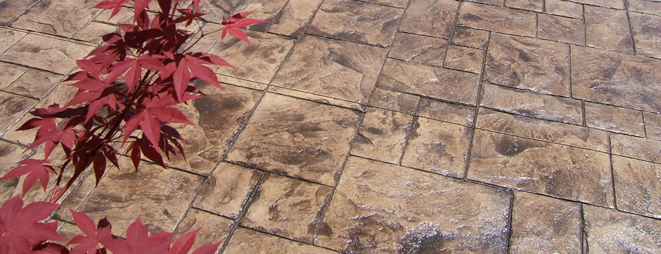 Brown Ashlar Slate Pattern